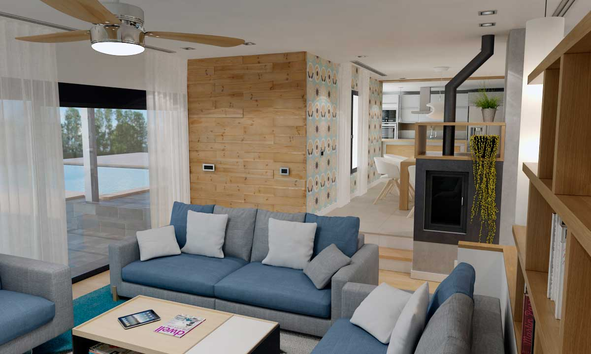 Restyling chalet