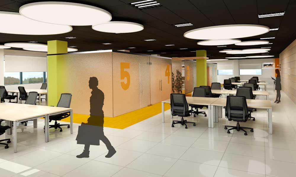 Oficinas nuevas tecnologías