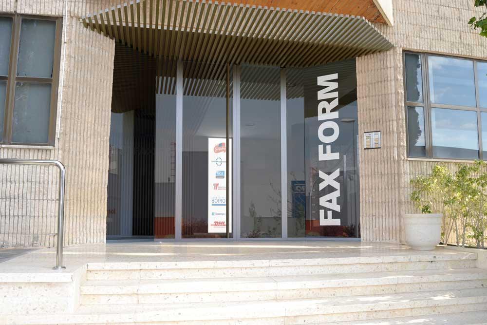 Hall entrada oficinas
