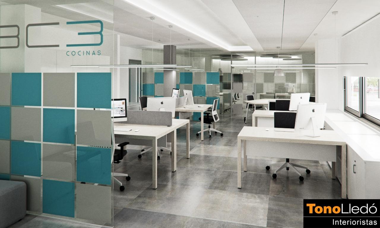 Proyecto oficinas BC3